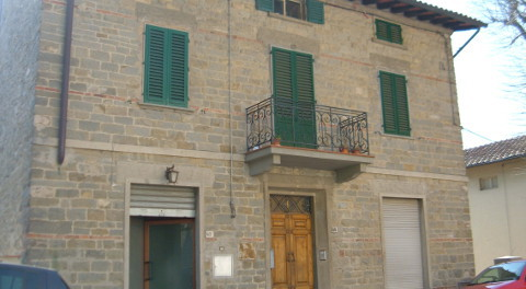 facciata di Casa Cristina a Ronta