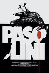 manifesto di Innocenti con corvo sopra scritta Pasolini
