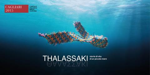 locandina della rassegna Thalassaki a Cagliari