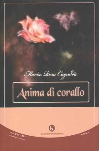 copertina del libro Anima di corallo di Maria Rosa Cugudda