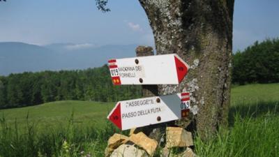 Un trekking sui crinali appenninici lungo un percorso che collega Bologna a Fiesole