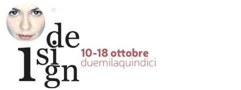 locandina dell'edizione 2015 della manifestazione I-design