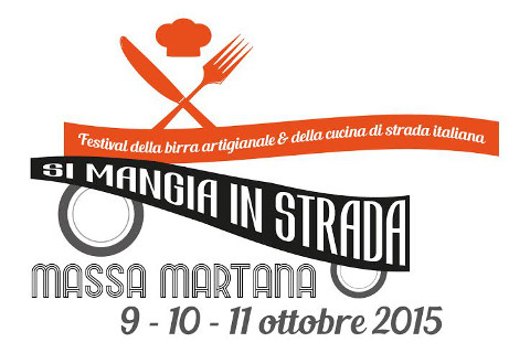 locandina del festival Si Mangia In Strada a Massa Martana