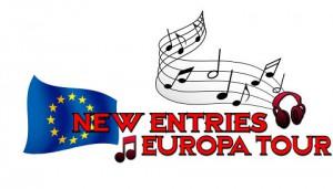 locandina del progetto musicale New Entries Europa Tour