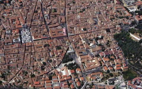 veduta aerea de L'Aquila