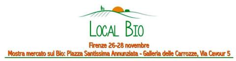 logo della mostra mercato Local Bio a Firenze