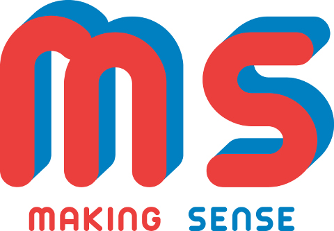 logo della mostra collettiva Making Sense a Cittadella