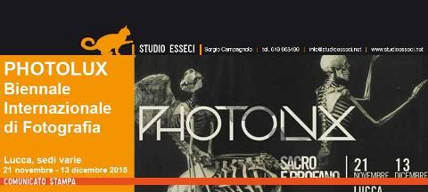 locandina del festival Photolux a Lucca