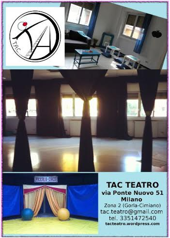 locandina di Tac Teatro a Milano