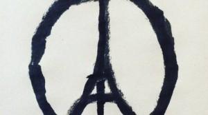 simbolo della pace unito con la tour eiffel