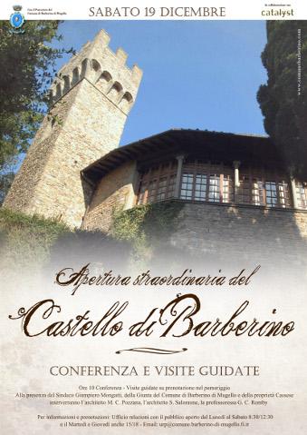 Castello Barberino - apertura straordinaria