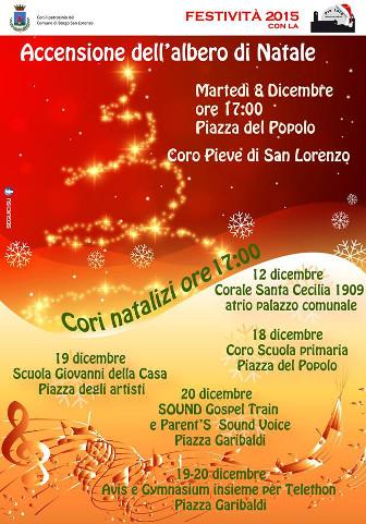 Rassegna di cori natalizi a Borgo San Lorenzo (FI)