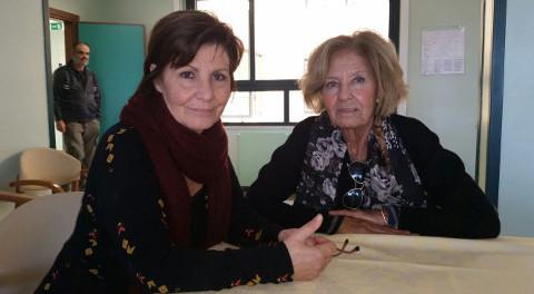 Gisella Trincas dell'Asarp e Laura Maxia del Tribunale per i diritti del malato