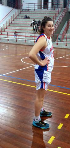 la giocatrice di basket Gisel Villarruel