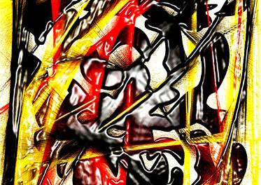 quadro di Giuseppina Martinez intitolato Revolution