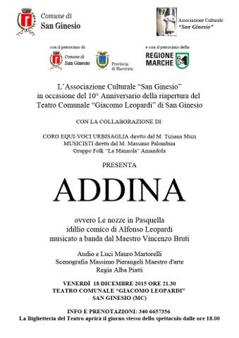 Addina - San Ginesio