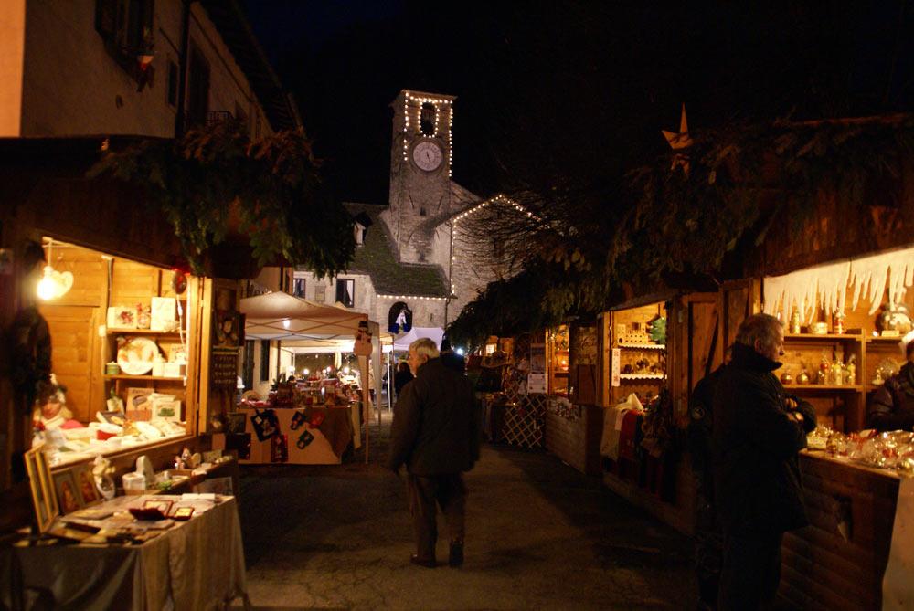 mercati natalizi a Palazzuolo di notte