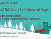 locandina di Aspettando Natale a La Bottega dei sogni di Cagliari