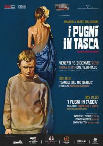 locandina di film di Bellocchio a Palermo