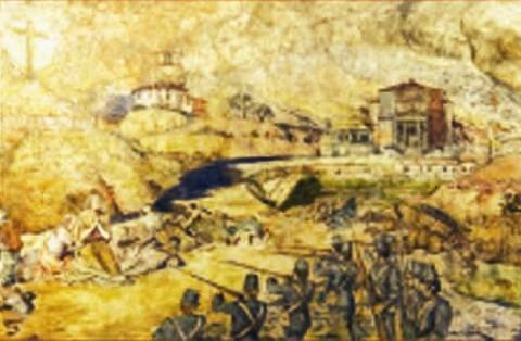 """L'angolo della poesia: """"Castelnuovo 11 aprile 1848"""" di Carlo Rossi"""