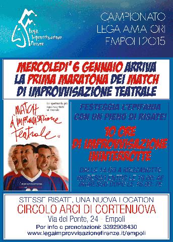 Maratona di Match di Improvvisazione Teatrale a Empoli