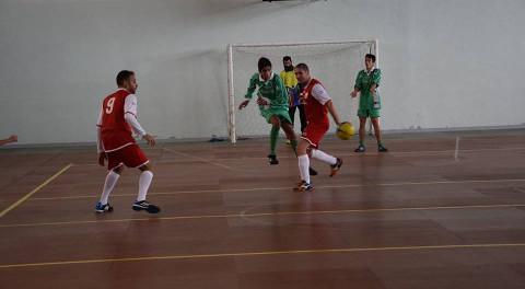 partita di calcio a 5 tra trapiantati e atleti con disabilità