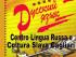 locandina del Centro di Lingua Russa e Cultura Slava di Cagliari
