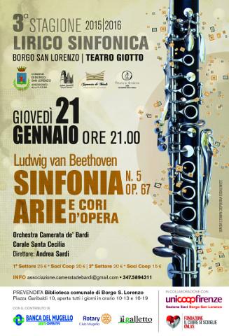 Concerto sinfonico-lirico-corale a Borgo San Lorenzo (FI): al via la prevendita