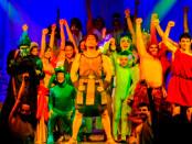Il cast del musical Hercules