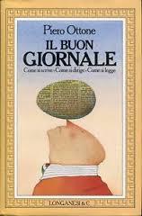 copertina del libro Il buon giornale di Piero Ottone