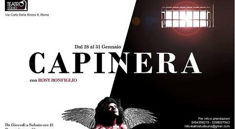 locandina dello spettacolo Capinera al Teatro Studio Uno di Roma