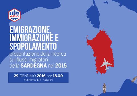 Flussi migratori e spopolamento in Sardegna: se ne parla a Cagliari