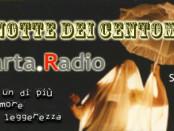 locandina dell'evento la notte dei centomila su quarta radio