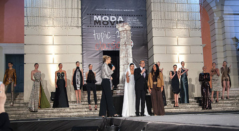 sfilata del concorso Moda movie in Calabria