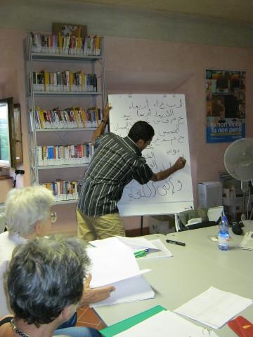 Gli interventi di accoglienza dei migranti a Borgo San Lorenzo (FI)