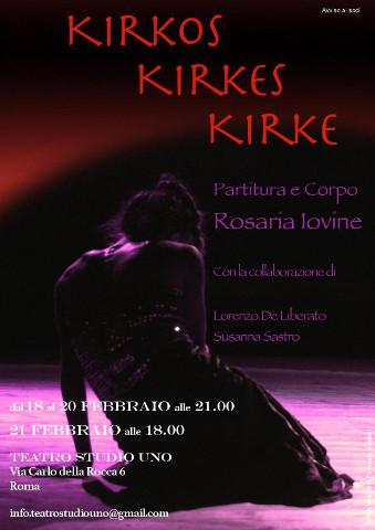 """Lo spettacolo di teatro-danza """"Kirkos Kirkes Kirke"""" a Roma"""