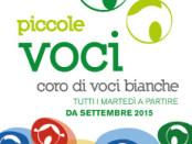 locandina dei concerto delle Piccole Voci per la stagione 2015-16