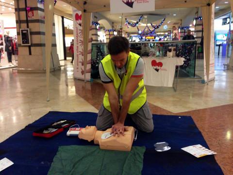 simulazione di primo soccorso