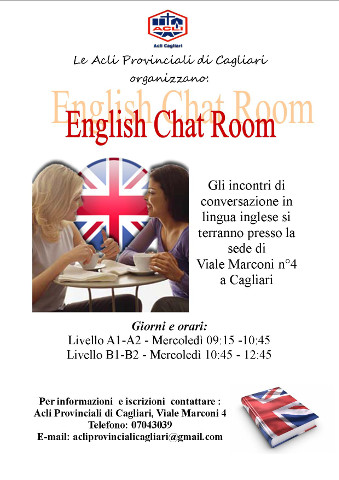 L'English chat room delle Acli di Cagliari