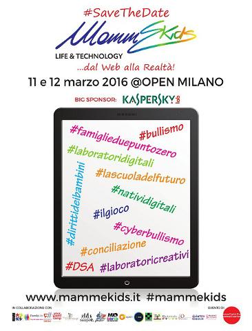 L'evento Mammekids Life & Technology a Milano