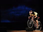 Tiziano Polese nei panni del ciclista Ottavio Bottecchia