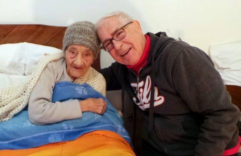 8 marzo con Nonna Caterina,104 anni