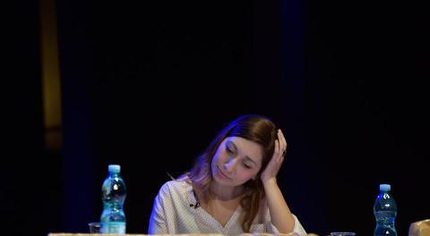 Francesca Saba in Mia madre e altre catastrofi