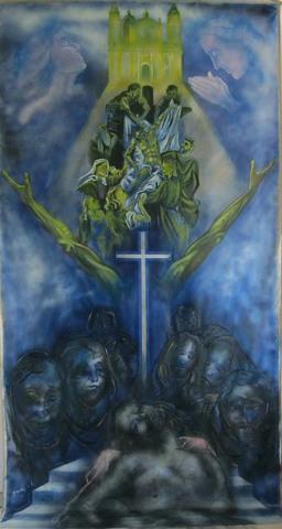 Processione del Cristo deposto: La Scinnenza di Guadagnuolo