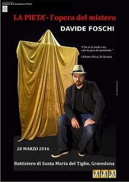 La pietà di Davide Foschi  esposta a Gravedona (CO)