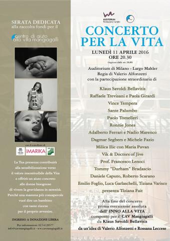 Concerto per la Vita a Milano