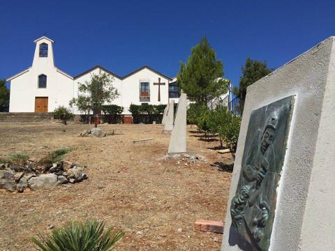 Benedizione della Via Crucis di Stefano Cherchi a Iglesias
