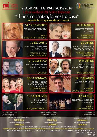 """""""E' ricca, la sposo, l'ammazzo"""" in scena a  Guidonia Montecelio (RM)"""