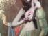 collage di Fabrizio Ibba raffigurante una donna