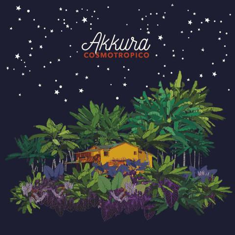 copertina dell'album Cosmotropico degli Akkura